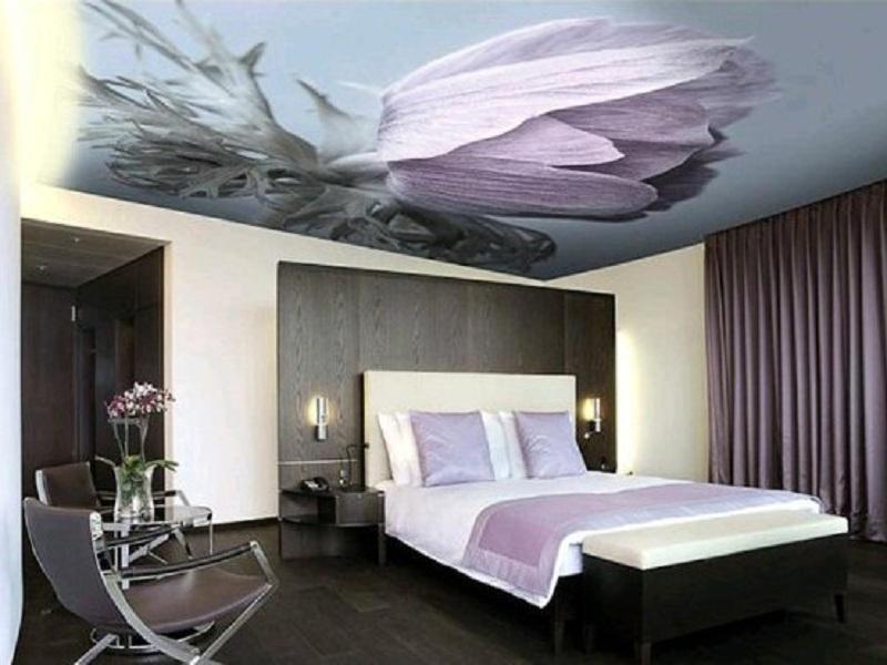 Натяжные потолки с фотопечатью: фото и дизайн для гостиной, зала, отзывы, орнаменты и картинки в интерьере