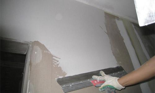 что нужно для шпаклевки стен