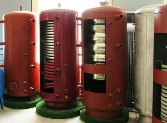 Теплоаккумулятор для котлов отопления российского производства