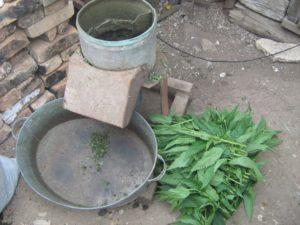 Измельчитель соломы своими руками, соломорезка и измельчитель травы