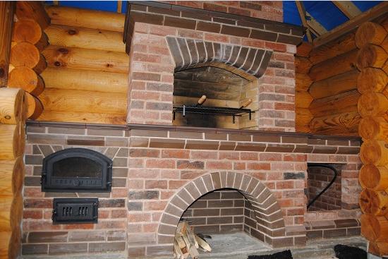 Печка для беседки из кирпича своими руками: схема и порядовка, как правильно сделать кирпичную печь, фото готовых устройств