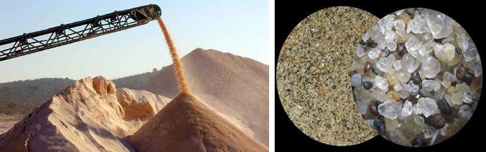 Песок речной, его происхождение и область применения
