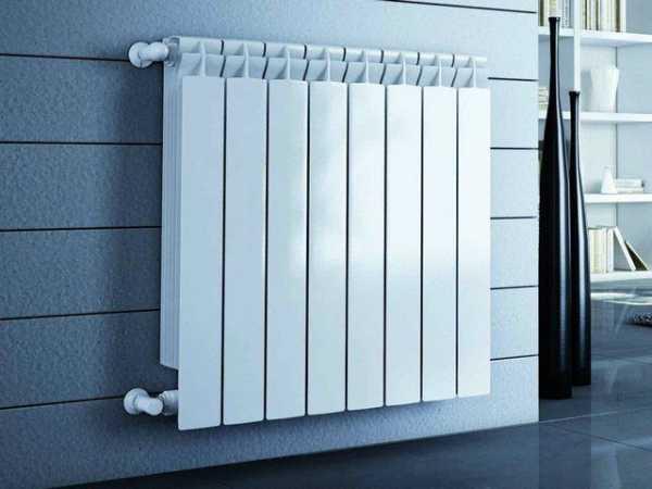 Расчет количества секций и теплоотдачи биметаллического радиатора
