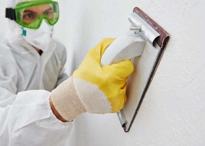 Шлифовка (ошкуривание) стен своими руками