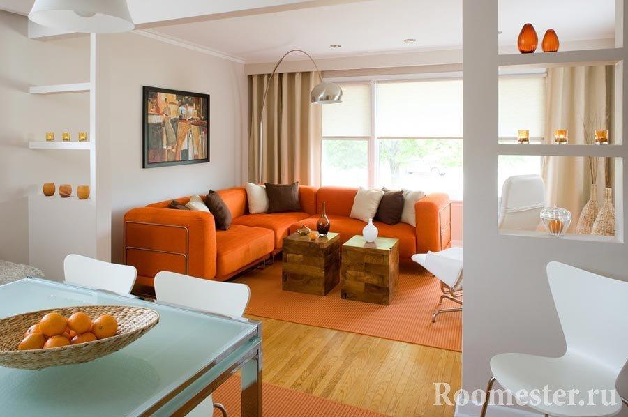 Оранжевый цвет в одежде - сочетание с другими цветами, фото