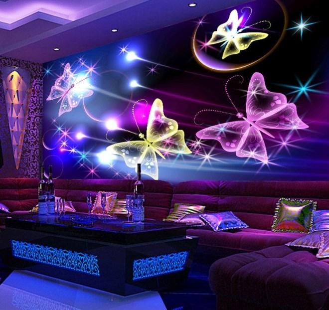 Светящиеся обои — фото и видео №1. выбор светящихся обоев для интерьера дома.   oboi-steny.ru россия (москва, спб)