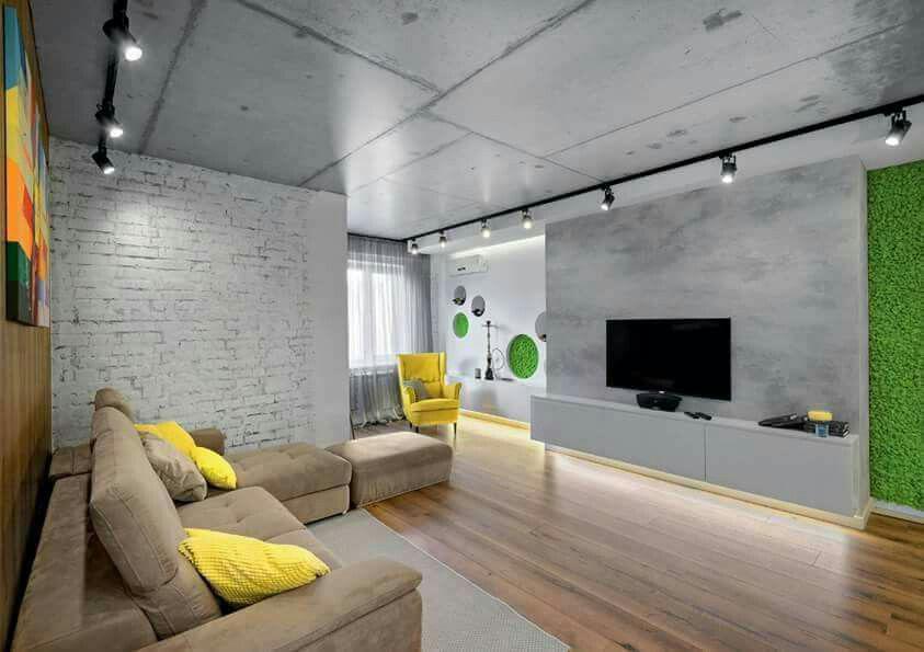 Потолок в стиле лофт - решения для низких и высоких потолков фото
