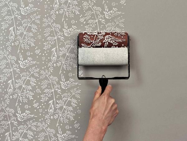 Фактурный валик для покраски стен (65 фото): декоративные модели с рисунком и узором для декора своими руками