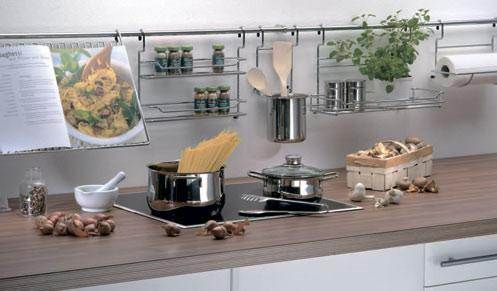 Как установить рейлинг для кухни самостоятельно