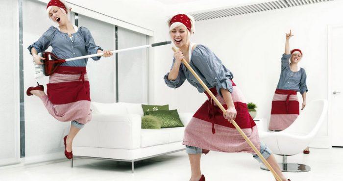 с чего начать уборку в доме