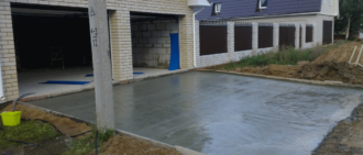 Технология бетонирования двора в частном доме своими руками - самстрой - строительство, дизайн, архитектура.