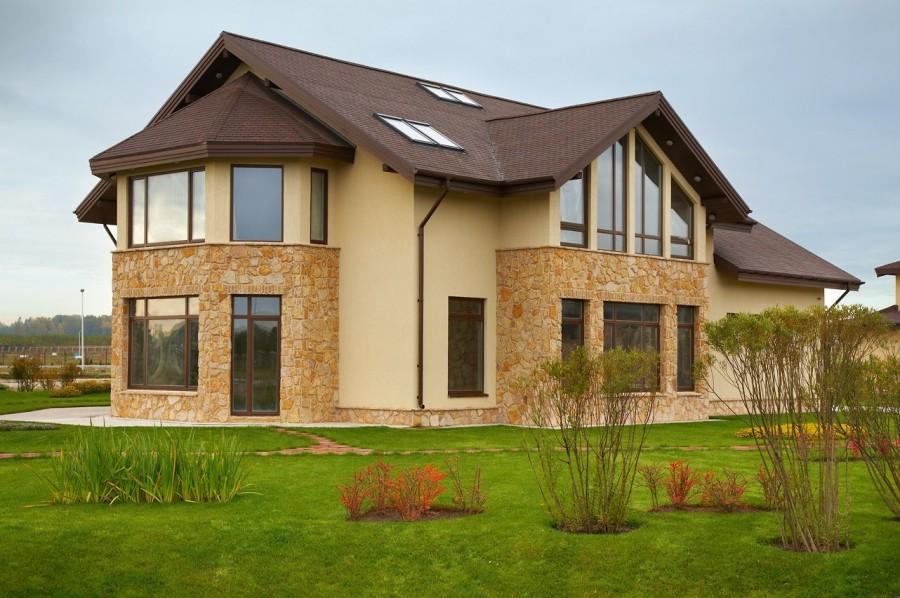 Отделочные материалы для облицовки фасадов частных домов: виды отделки фасада современными материалами
