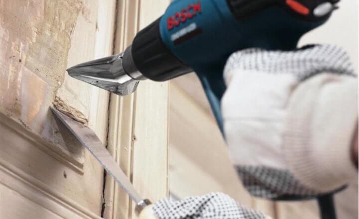 Лучшие способы, чем быстро удалить со стен старую краску своими руками