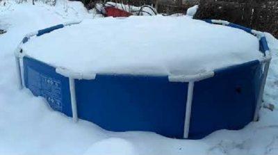 как сложить круглый бассейн