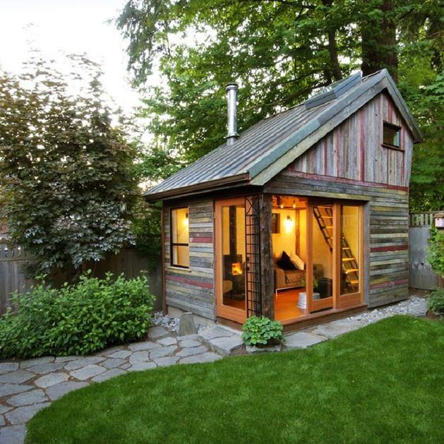 Проекты дачных домиков: фото, интересные идеи