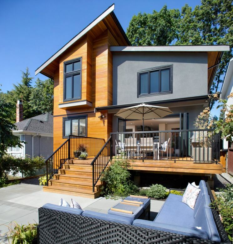 Дом 120 кв. м.: критерии выбора, тонкости оформления и оптимальный дизайн разных типов домов