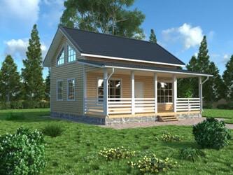 Деревянные окна в пол: панорамные окна в деревянных домах