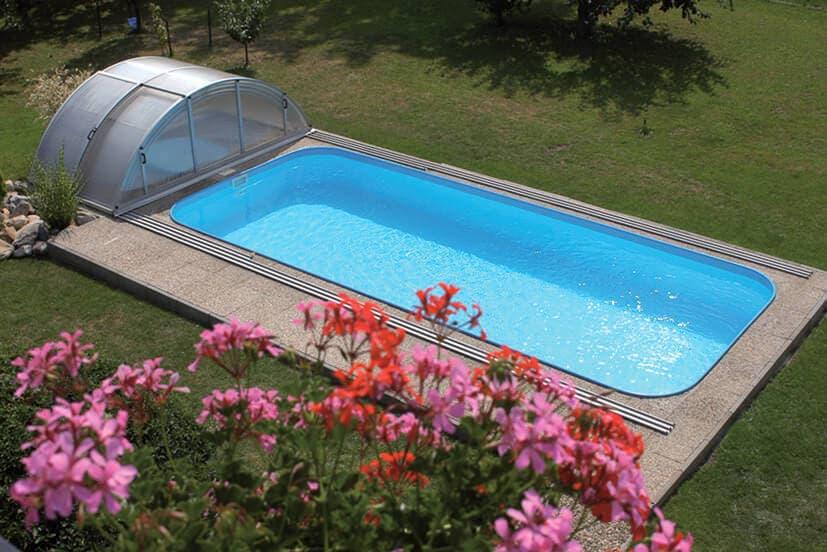 Строительство закрытого бассейна