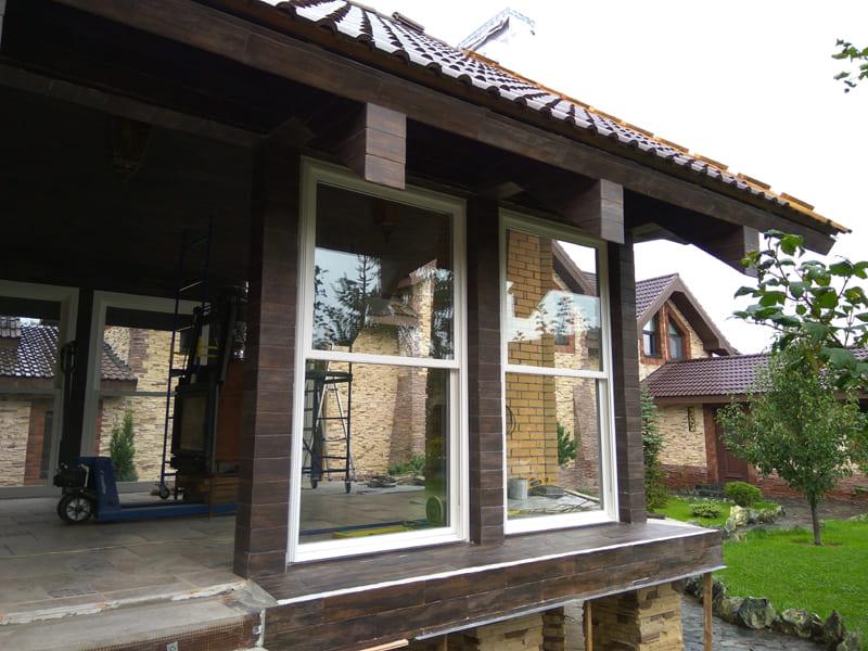 Американские (английские) сдвижные окна – слайдер