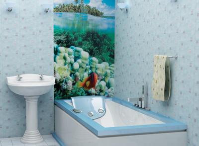 Чем отделать ванную комнату кроме плитки – способы отделки ванной