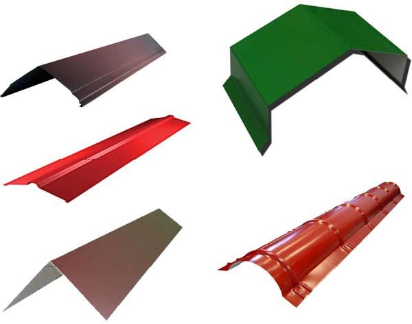 Уплотнитель под конек металлочерепицы: виды, особенности, стоимость