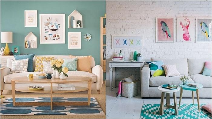 Мятный цвет в интерьере: оттенки свежести в оформлении комнат