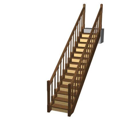 Расчет лестницы: как правильно рассчитать высоту конструкции на второй этаж в частном доме, формула расчета ступеней и шитов