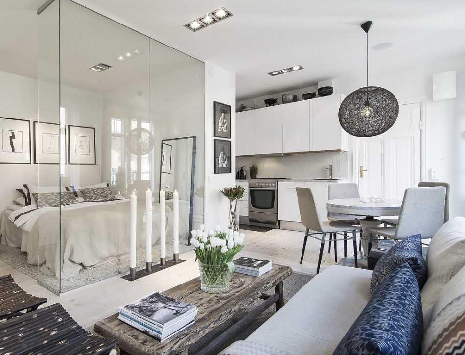 Гостиная, спальня и кабинет в одном флаконе: квартирный вопрос, выпуск №448