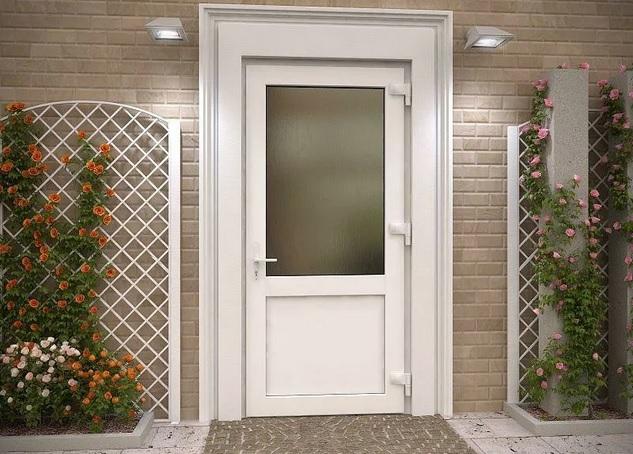красивые пластиковые двери