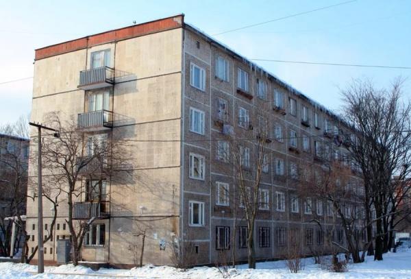 панельная пятиэтажка
