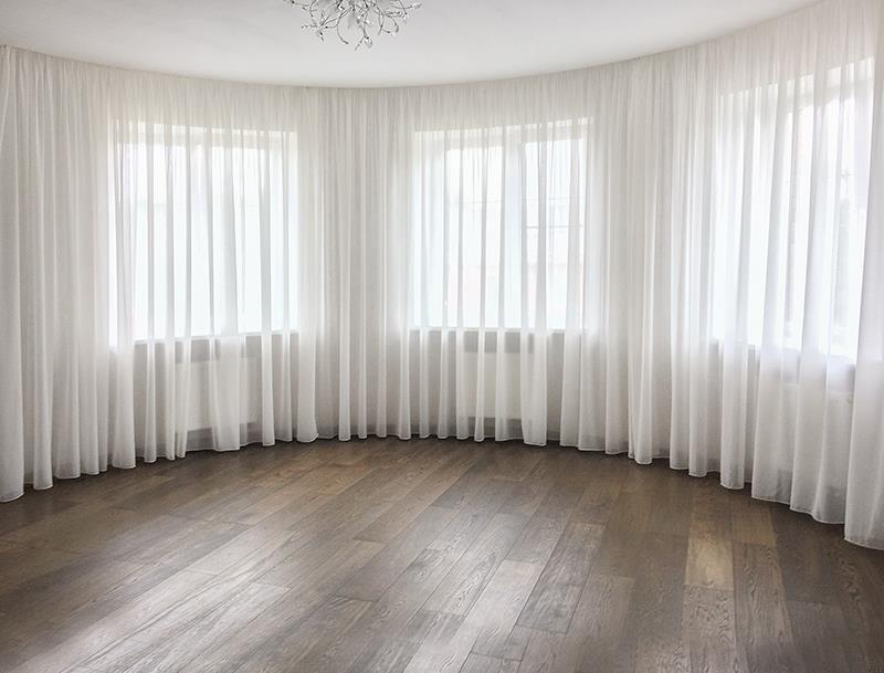 Как рассчитать тюль на окно - всё о шторах и гардинах