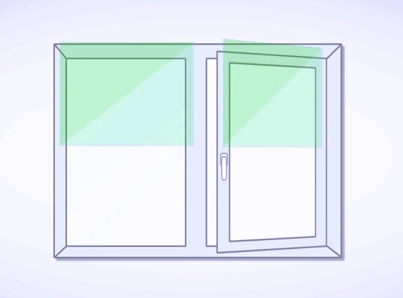 Как повесить жалюзи на пластиковые окна: варианты установки + фото