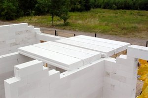 Плиты перекрытия для домов из газобетона