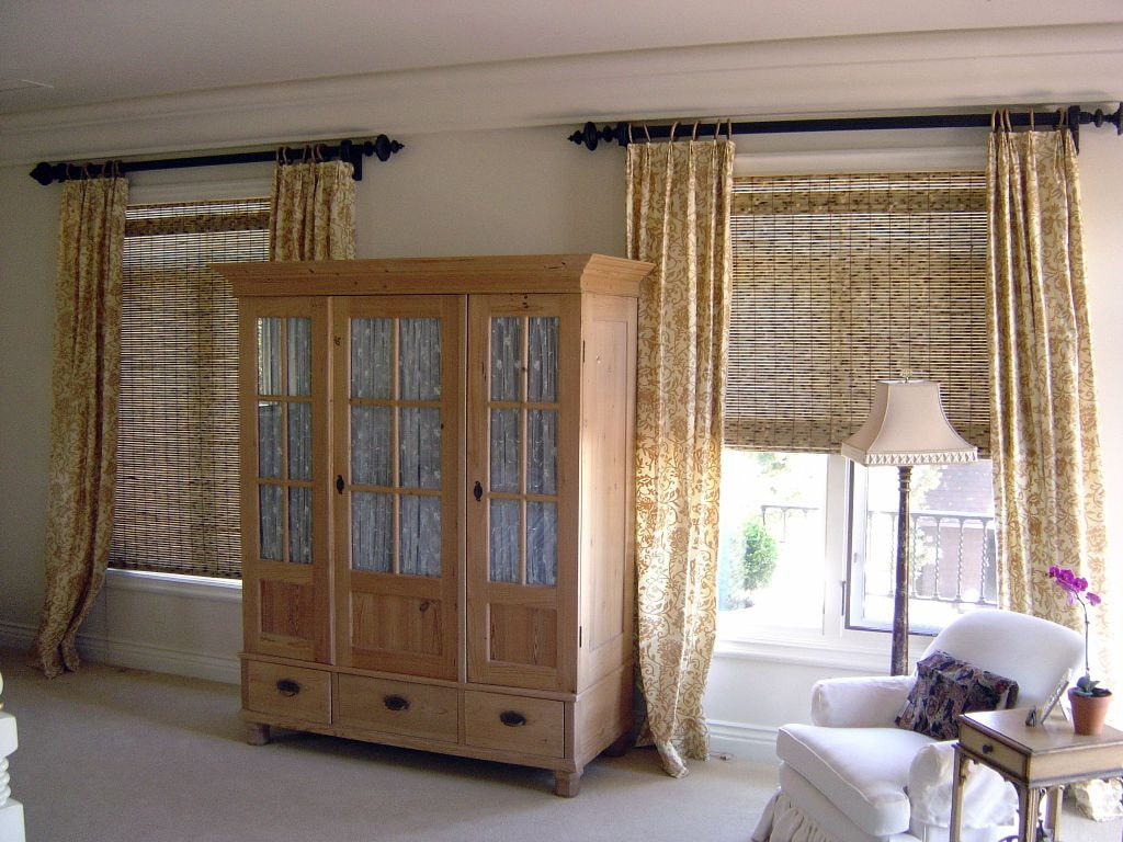 Бамбуковые шторы на дверной проем [120+ стильных идей] #2019