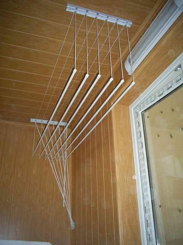 Описание и фото сушилок для белья на балкон