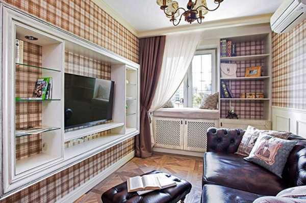 Выбор мебели для зала с маленькой площадью
