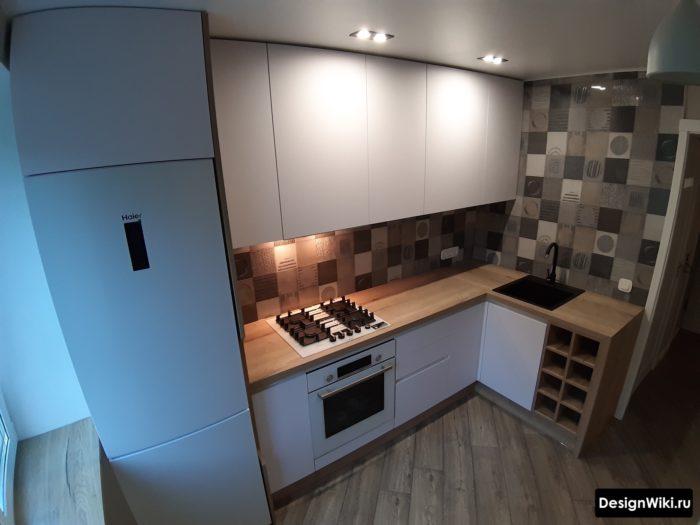 Маленькая угловая кухня (80 фото) - дизайн интерьеров, идеи для ремонта