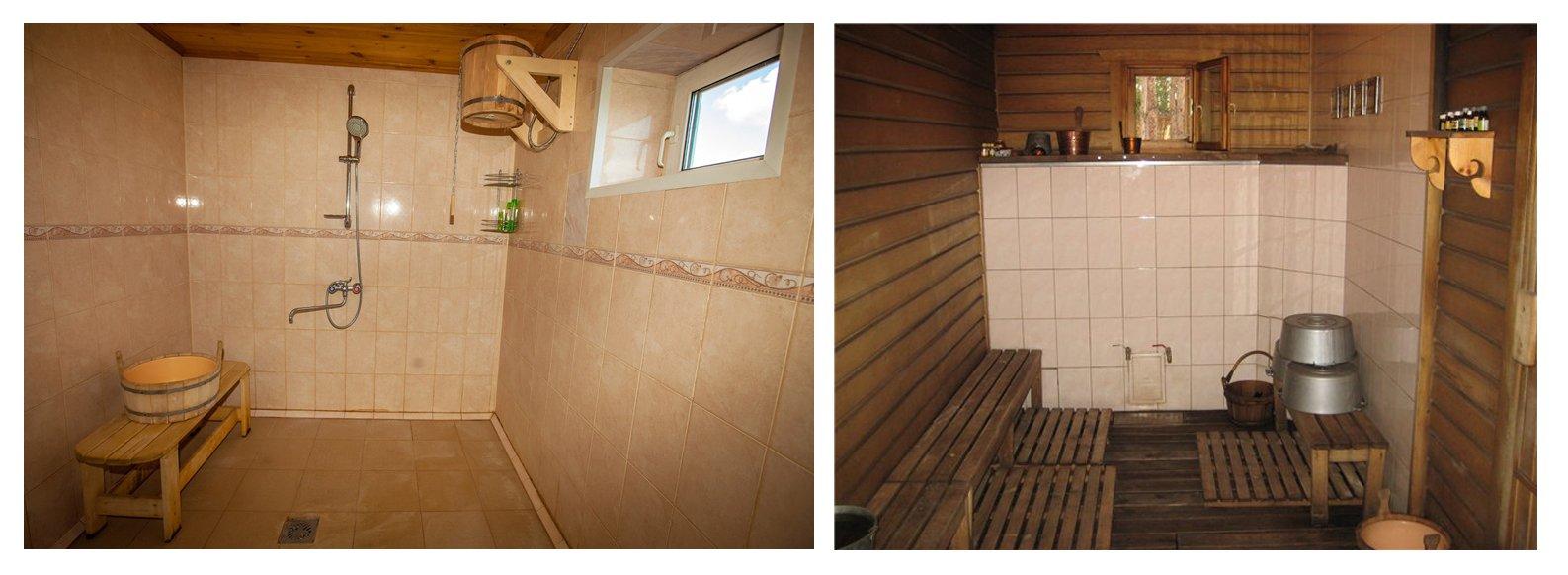 отвод воды из бани