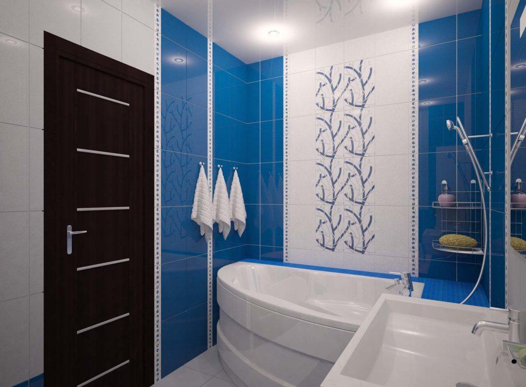 дизайн ванной комнаты маленькой площади