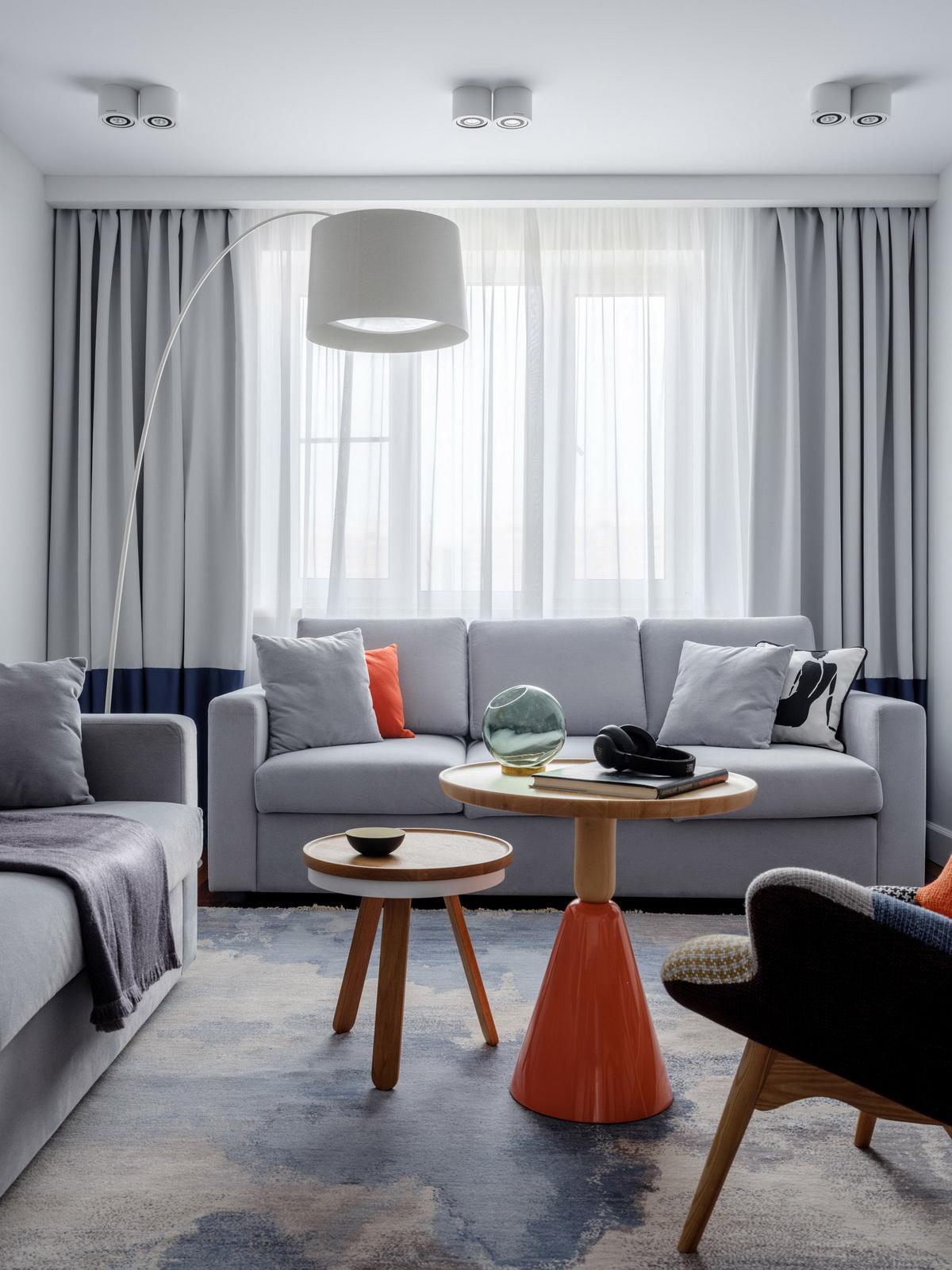 Новинки дизайна штор для гостиной (125 фото): дизайнерские портьеры 2020 года, примеры занавесок в зал для современного интерьера, как подобрать цвет