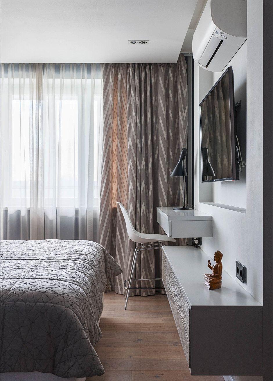 Тюль в спальню: 100 модных новинок дизайна на фото