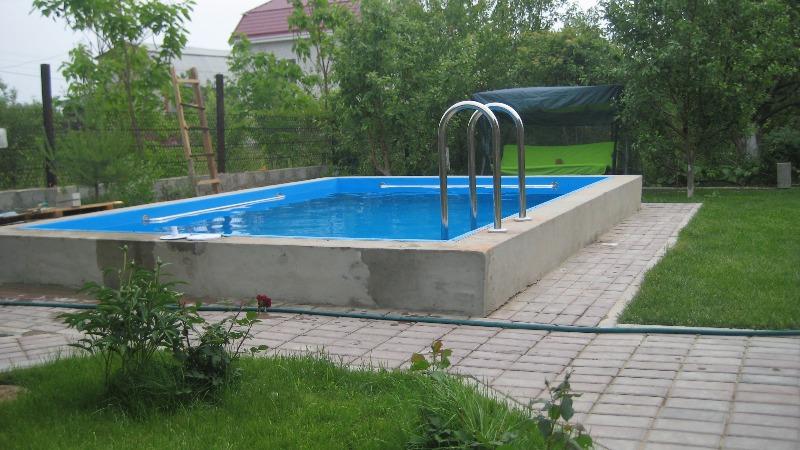 Подушка под бассейн из бетона. как сделать бассейн своими руками: пошаговая инструкция по сооружению. «бетонный» бассейн – общая характеристика
