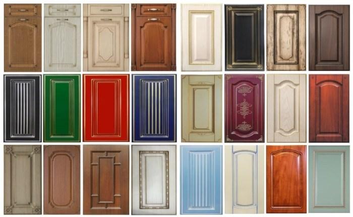 Крашенные фасады для кухни: разновидности, плюсы и минусы, фото
