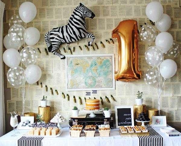 20 идей украшения детского стола на день рожденья