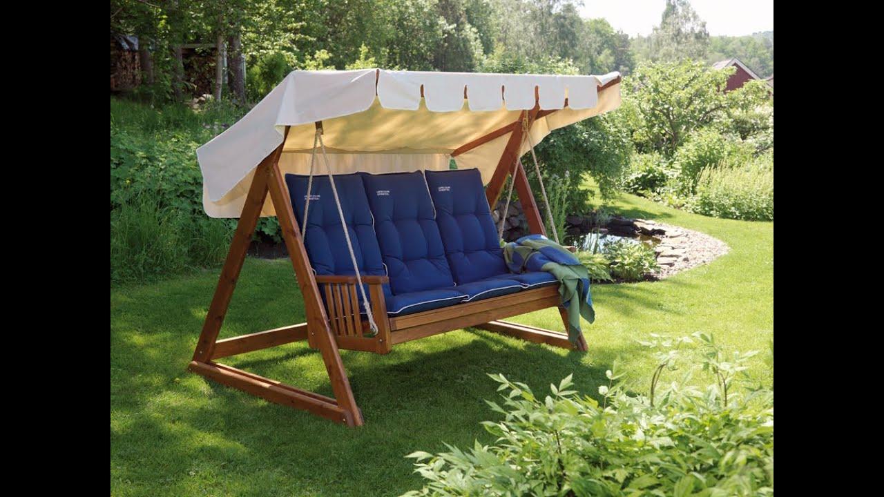Садовые качели - лучшие идеи и советы по выбору стильных и красивых качелей (135 фото)
