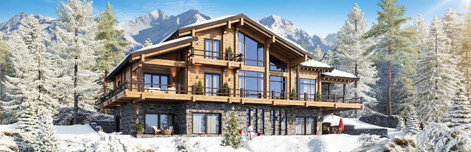 Cтили деревянных домов - скандинавский, лофт, модерн, русский.