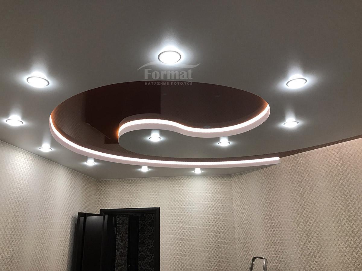 Светильники для натяжных потолков: обзор подходящих ламп и установка своими руками (110 фото-идей) – строительный портал – strojka-gid.ru