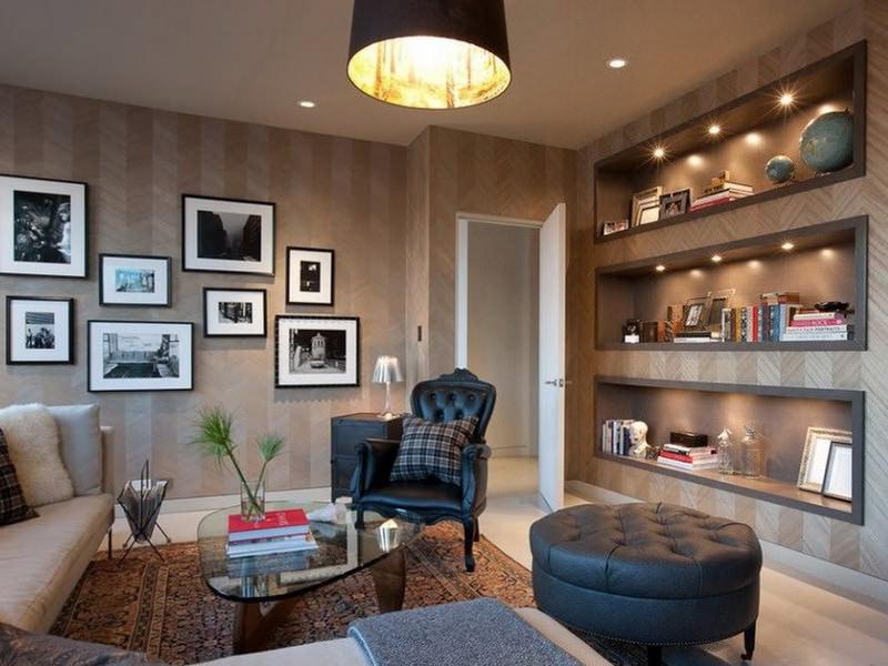 Сегодня всё чаще встречаются однотонные обои в интерьерах разных комнат. для стен это идеальное решение