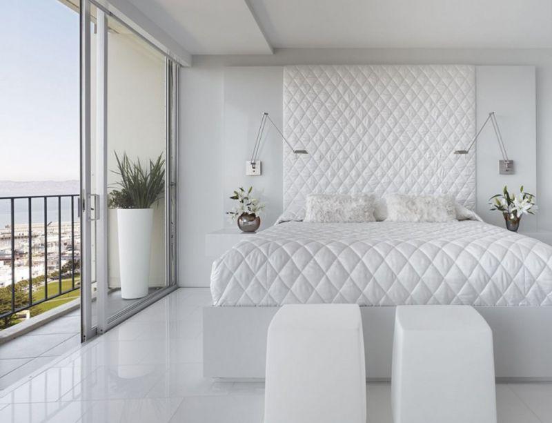варианты обоев для спальни