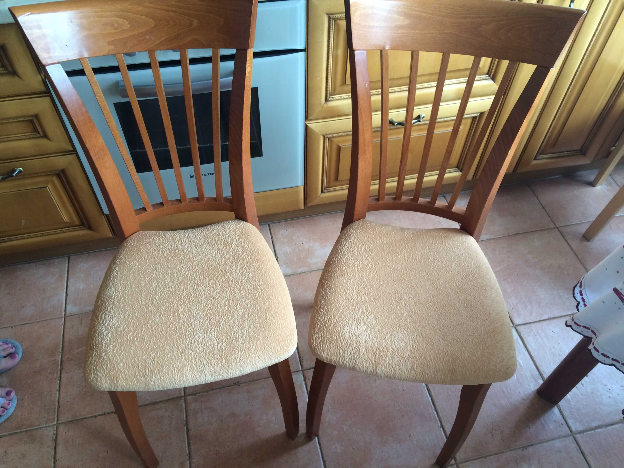 как перетянуть стул